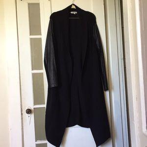 Jennifer Lopez Dramatic Black Sweater